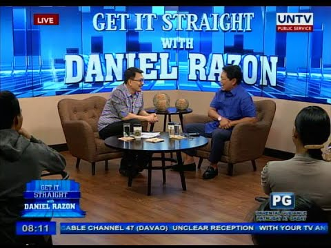 "UNTV: DOLE Sec. Silvestre ""Bebot"" Bello III on Get it Straight"