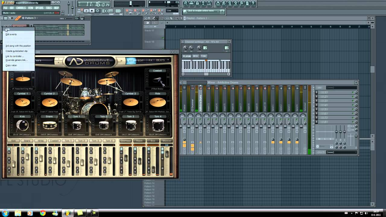 Toontrack: EZ Drummer vs  XLN Audio: Addictive Drums (FL Studio Review)