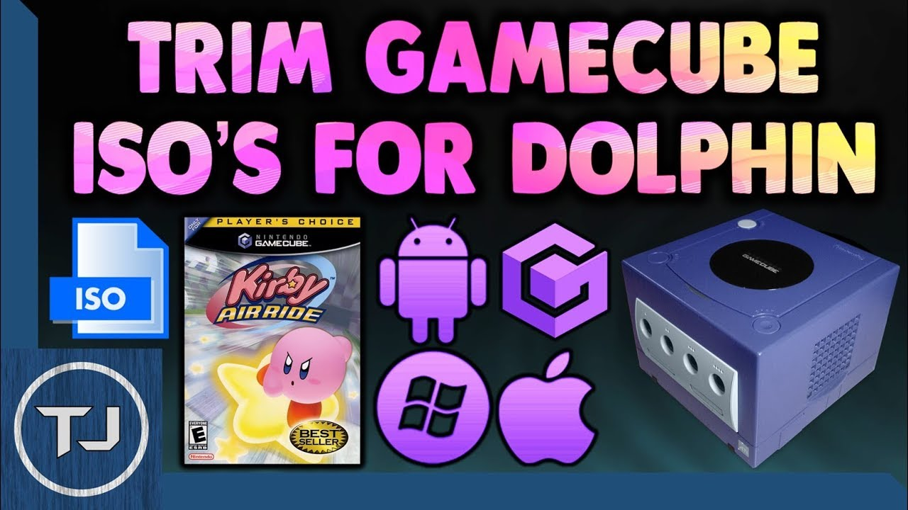 Trim Down GameCube ISO Games For Dolphin Emulator!