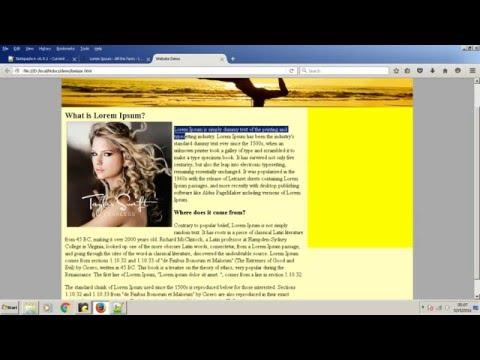 Membuat Website Sederhana Dengan HTML Dan CSS