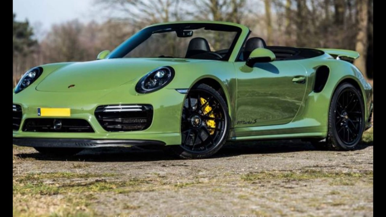 New Cabriolet 2018 Porsche 911 Turbo S Sport Youtube