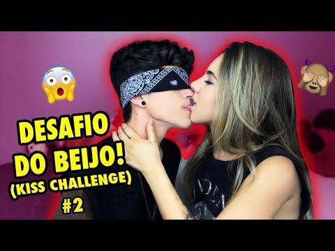 """DESAFIO DO BEIJO COM MINHA AMIGA (EX?) #2 """"KISS CHALLENGE!!"""""""