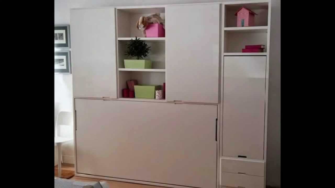 Mueble con cama y mesa abatible mesa integrada abatible - Mesas de cocina abatibles de pared ...