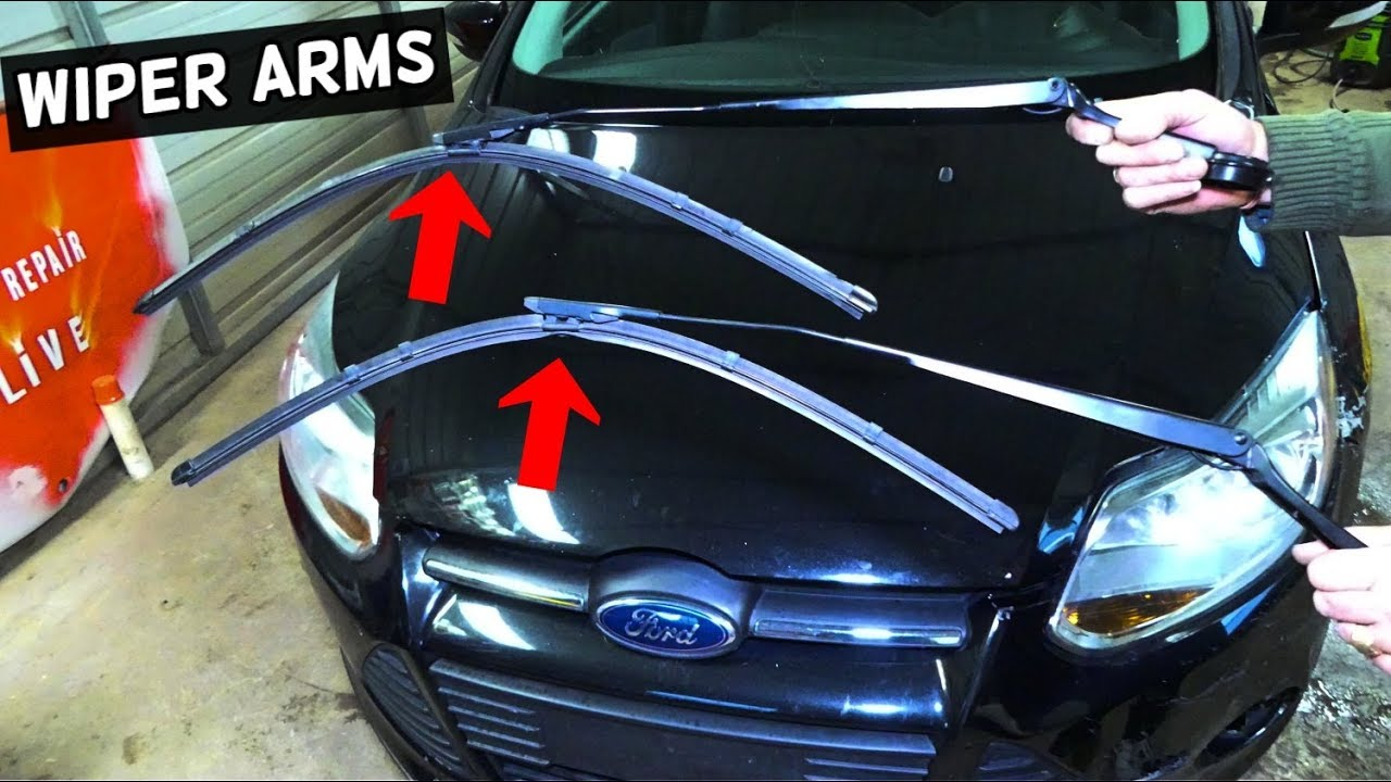 How To Remove And Replace Windshield Wiper Arm On Ford Focus Mk3