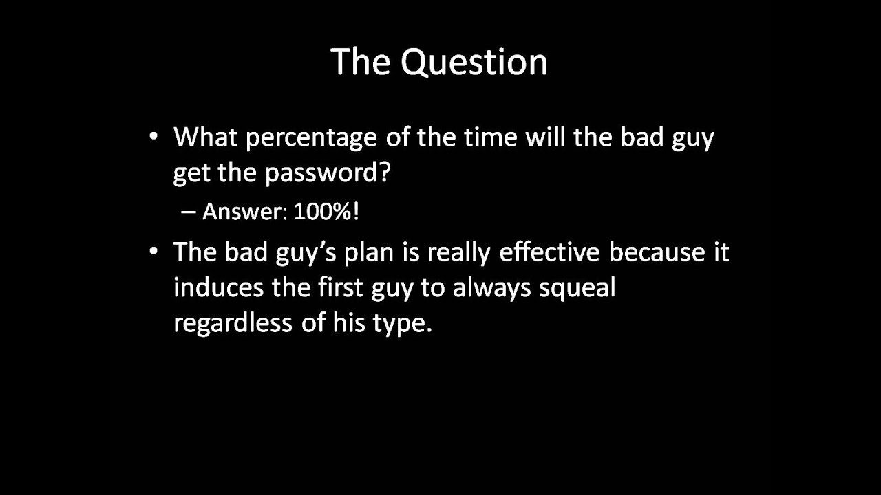 Game Theory 101 The Dark Knight Rises Hostages Dilemma Youtube