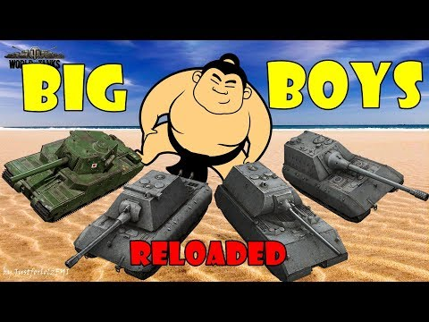 World of Tanks - Funny Moments | BIG BOYS! thumbnail