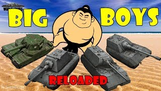 World of Tanks - Funny Moments | BIG BOYS!