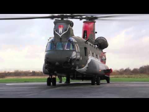 ZA712 Chinook Departure