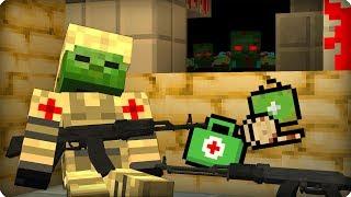👉Кто за мной следит? [ЧАСТЬ 42] Зомби апокалипсис в майнкрафт! - (Minecraft - Сериал)