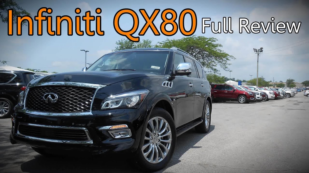 2016 Infiniti Qx80 Full Review 5 6 Signature Edition Limited