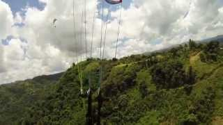 Paragliding 3 Niviuk over Morovis, Puerto Rico