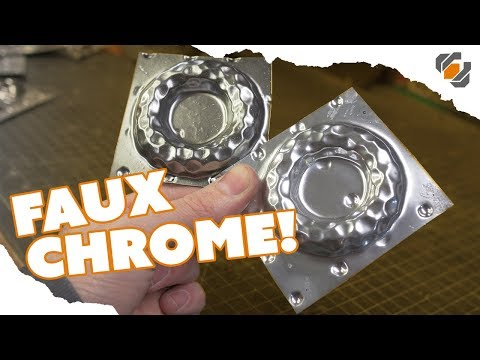 HOW TO - Paint a Faux CHROME Finish on Your Props - TUTORIAL