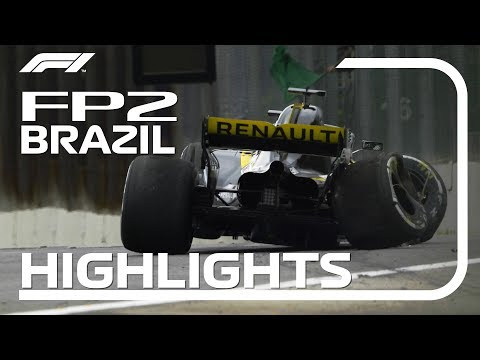 2018 Brazilian Grand Prix: FP2 Highlights