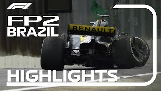 2018 Brazilian Grand Prix: FP2 Highlights