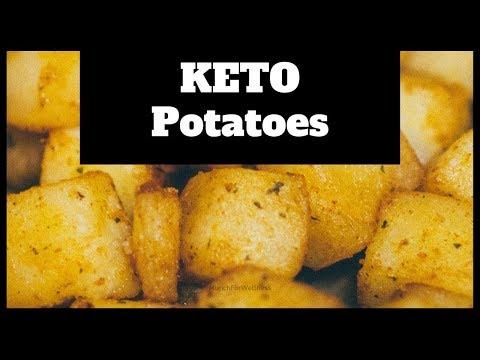 🔴-keto-breakast-idea-🥓-no-cauliflower🥔-keto-skillet-potatoes-with-bacon