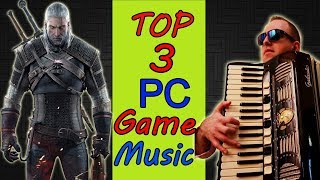 RETRO PC GAME THEME SONGS OST (Mafi 1/Commandos/ The Witcher- ТОП 3 Лучшая Музыка из Игр