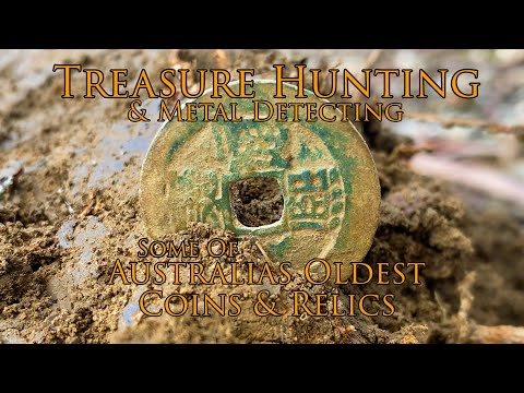 Metal Detecting & Treasure Hunting Australia's Oldest Coins