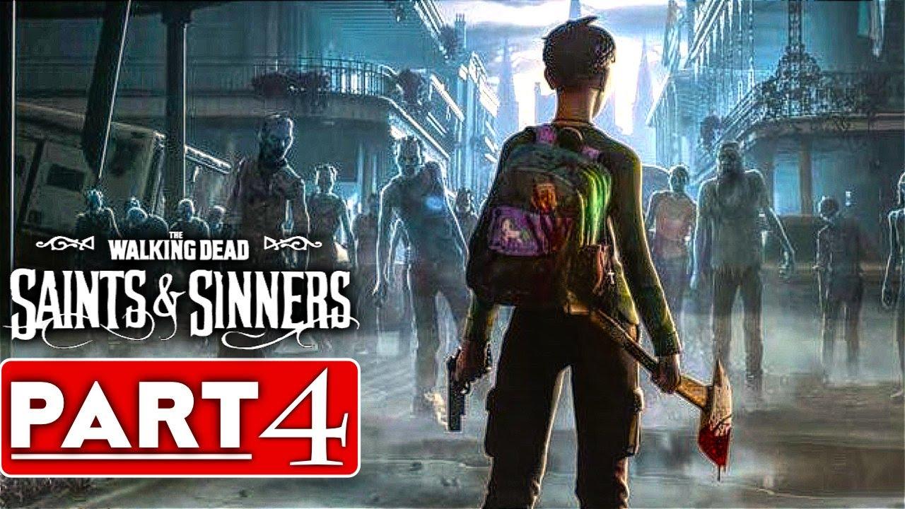 THE WALKING DEAD SAINTS & SINNERS Guía de juego Parte 4 [60FPS PC VR] - Sin comentarios + vídeo