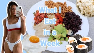 What I Eat in a Week // Real Food Habits // Rushed to Planned & everything in-between //Sami Clarke