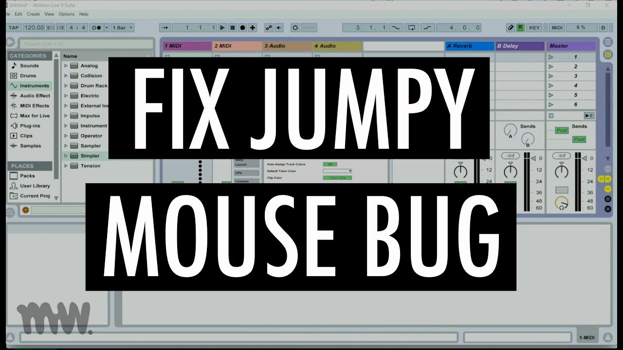 FIX ABLETON MOUSE CONTROL IN WINDOWS