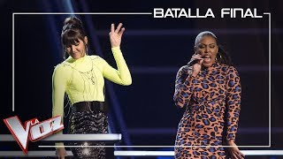 Beatriz Pérez y Linda Rodrigo cantan 'The way you make me feel'| Batalla final| La Voz Antena 3 2019