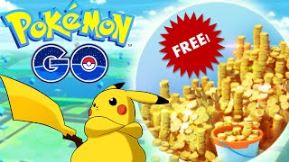 Pokemon Go! FREE UNLIMITED POKE-COINS! How To Level Up Fast ( Pokemon Go Free Coins )