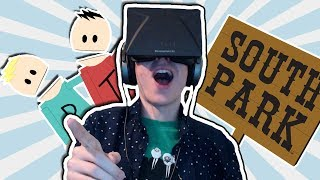 South Park Game: Oculus Rift DK1 - THIS IS SO MUCH FUN!