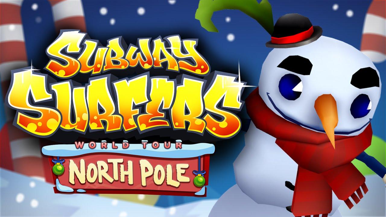 Subway Surfers World Tour - North Pole Trailer
