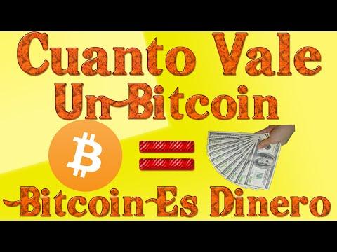 Cuanto Cuesta Un Bitcoin Y Para Que Sirve - El Bitcoin Es Dinero