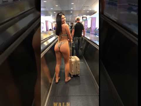 The KiddChris Show - WATCH!!! Thong Sighting at the Airport!!