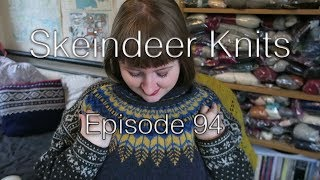 Skeindeer Knits Ep. 94: It was rib and I ribbed it