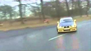 M3 drifting in the wet