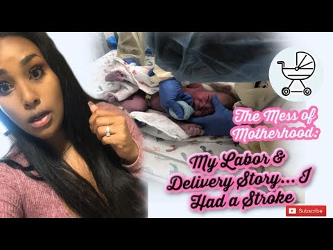 STORYTIME   Pregnancy   Mini Stroke   43 Hour Labor & Delivery   Baby Jude is HERE!!!