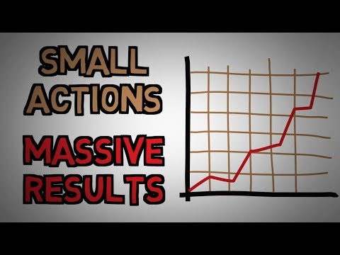 Small Daily Actions Lead To Massive Results Consistency Is Key (animated)