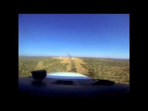 Approach and Landing Runway 26 Sir Seretse Khama Airport