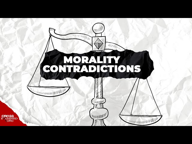 Do atheists contradict themselves on morality?