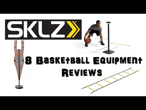 Equipment review of 8 basketball SKLZ training products