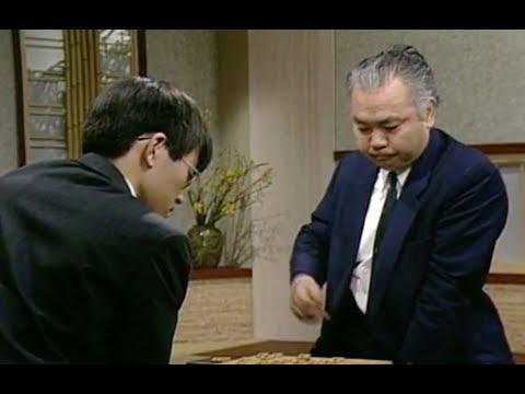 羽生名人と将棋をさす加藤一二三