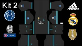 Dream League Soccer 2017   Real Madrid Kits 2017 2018 UEFA Champions League