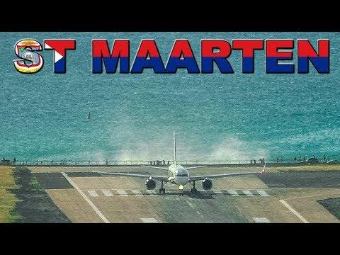 Delta 757 Jet Blasts Maho Beach + quick takeoff