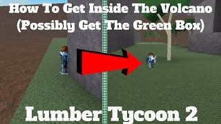 ROBLOX Lumber Tycoon 2- How To Glitch Inside The Volcano! (Secret Area)