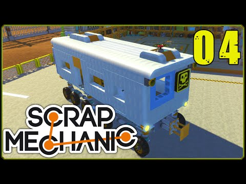 Scrap Mechanic || Scrappy Racers #4 | Subway Train!