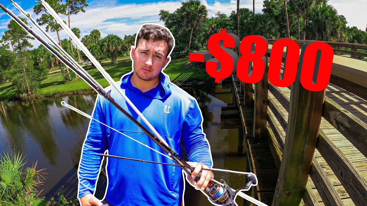 I Accidentally Broke $800 Worth of Rods!