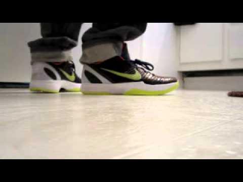 9ae7258a282a Nike Zoom Kobe 6 VI Chaos on Feet!!!!!!! - YouTube