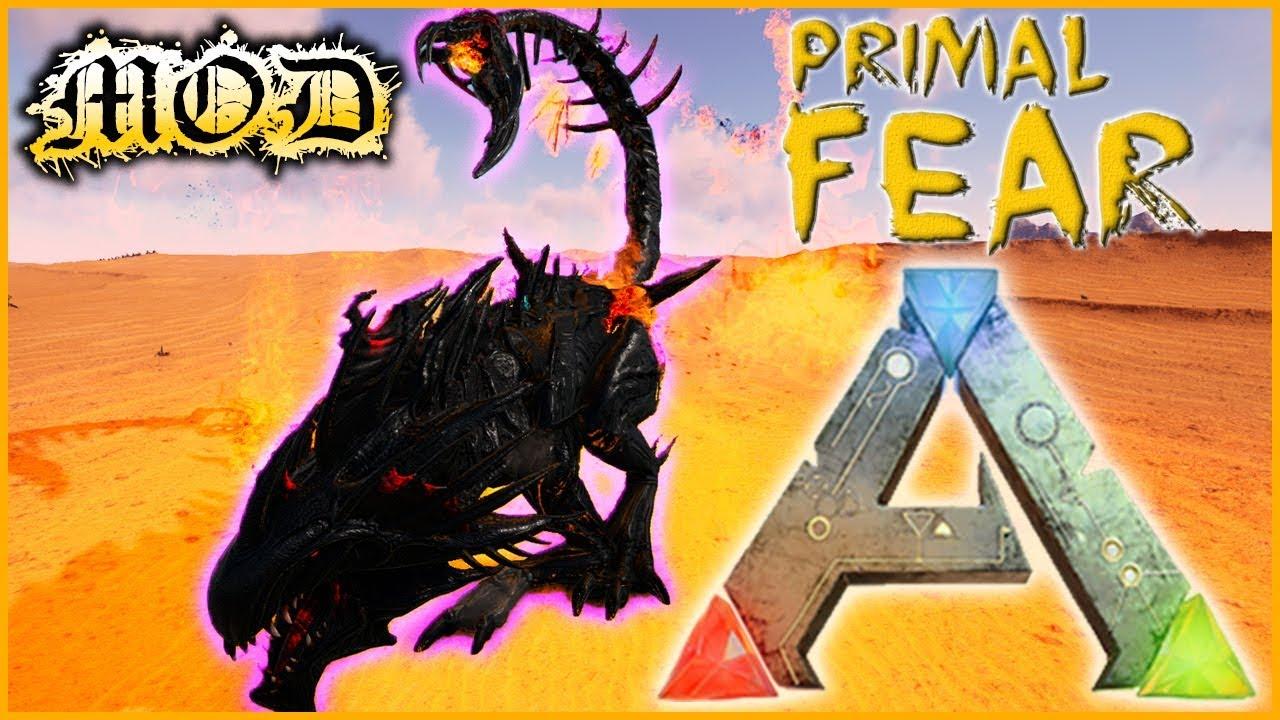 ARK PRIMAL FEAR - #46 ►RENCONTRE AVEC LE BOSS REAPER DEMONIC 1/2 [FR MOD]
