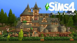 The Sims 4 House of White Magic [ Stop motion build ] [Realm of Magic]