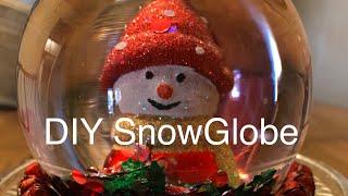Dollar Tree DIY - Make your own Super Cute Snowglobe
