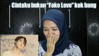 BTS - Fake Love MV Reaction! ((Cintaku asli bang, nggak fake))