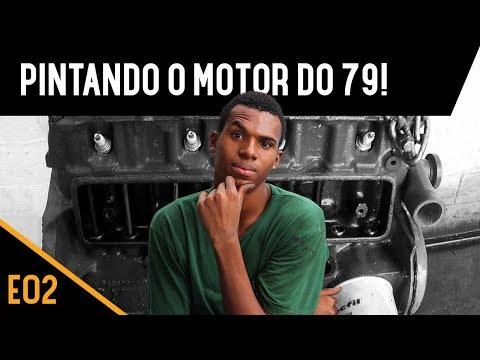 MOTOR, FREIO E PINTURA! Opala 1979 Placa Preta - E02