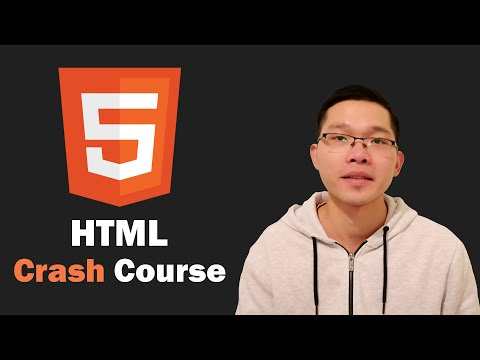 HTML Crash Course 2021